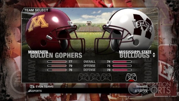 NCAA Football 09 Screenshot #61 for Xbox 360