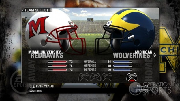 NCAA Football 09 Screenshot #63 for Xbox 360