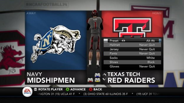 NCAA Football 14 Screenshot #284 for Xbox 360