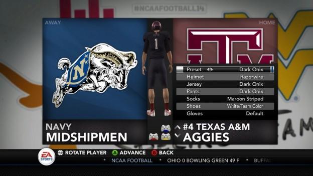 NCAA Football 14 Screenshot #285 for Xbox 360