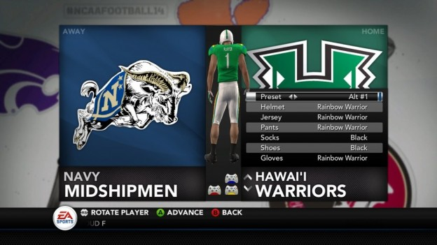 NCAA Football 14 Screenshot #289 for Xbox 360