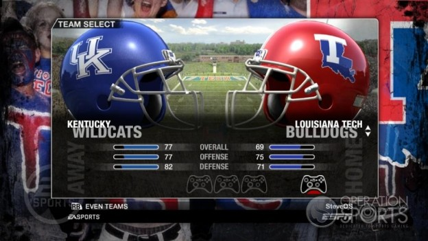 NCAA Football 09 Screenshot #67 for Xbox 360