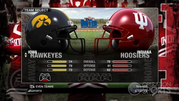 NCAA Football 09 Screenshot #70 for Xbox 360