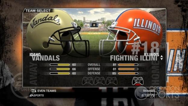 NCAA Football 09 Screenshot #71 for Xbox 360