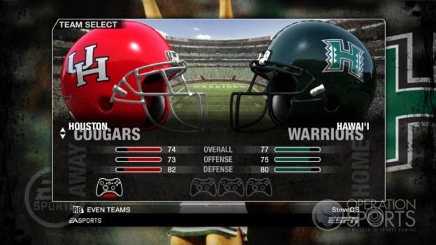 NCAA Football 09 Screenshot #72 for Xbox 360