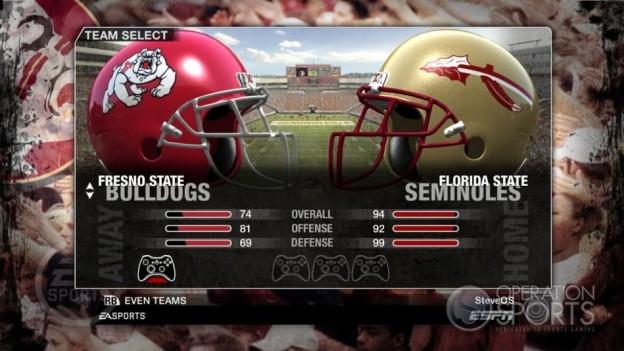 NCAA Football 09 Screenshot #74 for Xbox 360