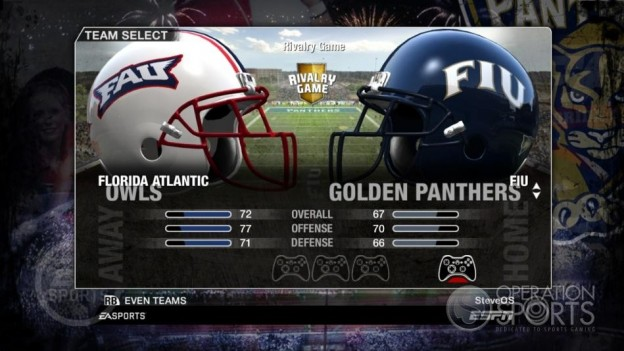 NCAA Football 09 Screenshot #75 for Xbox 360