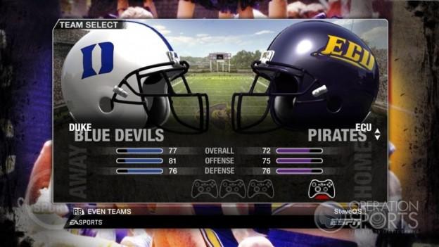 NCAA Football 09 Screenshot #77 for Xbox 360