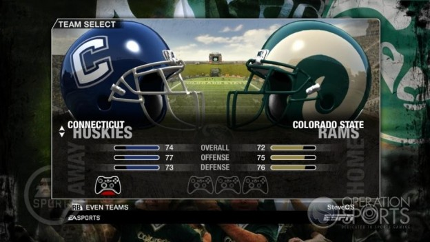 NCAA Football 09 Screenshot #78 for Xbox 360