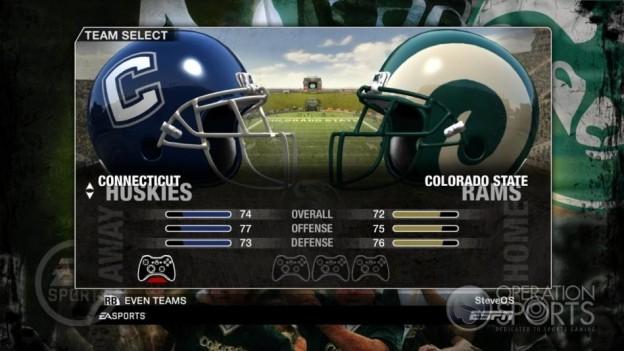 NCAA Football 09 Screenshot #78 for Xbox 360