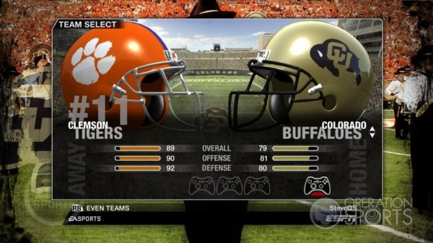 NCAA Football 09 Screenshot #79 for Xbox 360