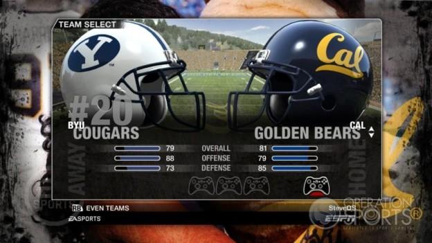 NCAA Football 09 Screenshot #81 for Xbox 360