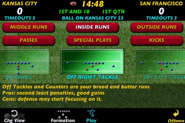 Pro Strategy Football 2013 Screenshot #4 for iOS
