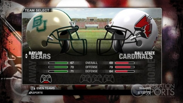 NCAA Football 09 Screenshot #84 for Xbox 360