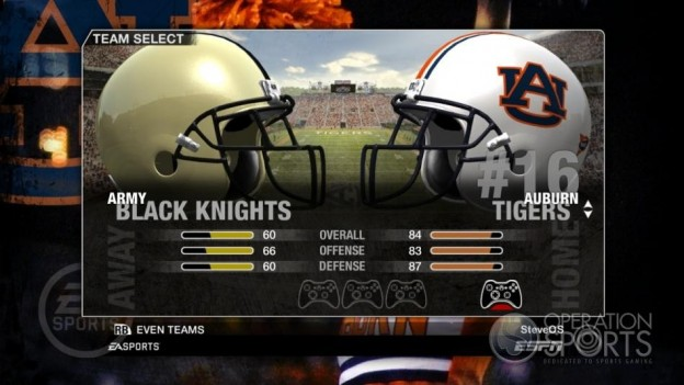 NCAA Football 09 Screenshot #85 for Xbox 360