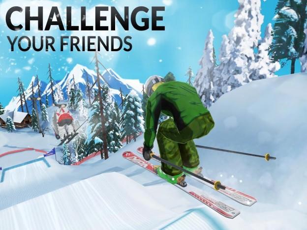 FRS Ski Cross Screenshot #2 for iOS