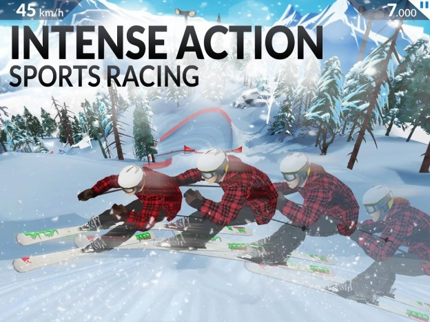 FRS Ski Cross Screenshot #4 for iOS