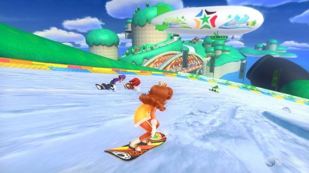 Mario and Sonic At the Winter Olympics Sochi 2014 Screenshot #1 for Wii U