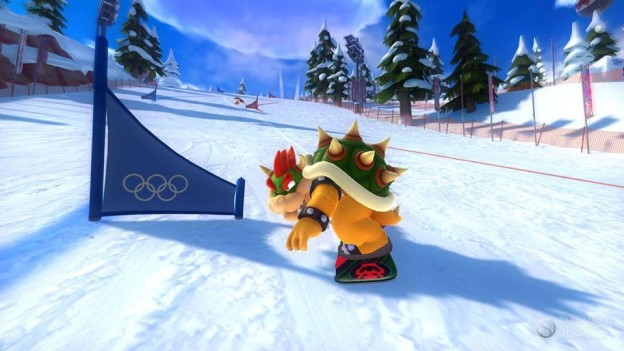 Mario and Sonic At the Winter Olympics Sochi 2014 Screenshot #3 for Wii U