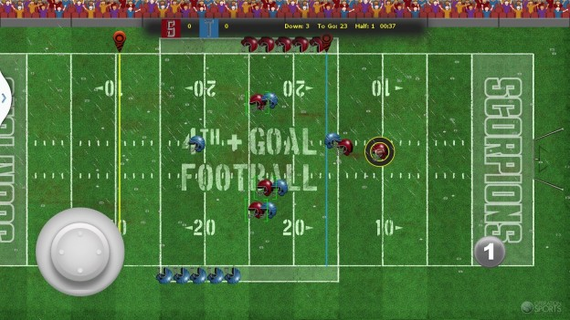 4th and Goal Football Screenshot #1 for Android