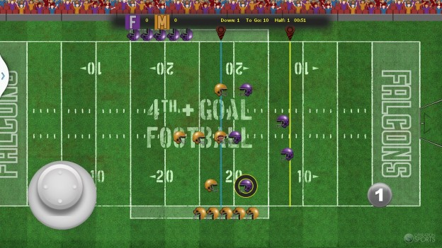 4th and Goal Football Screenshot #2 for Android