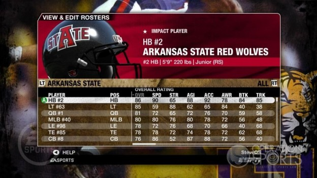 NCAA Football 09 Screenshot #95 for Xbox 360