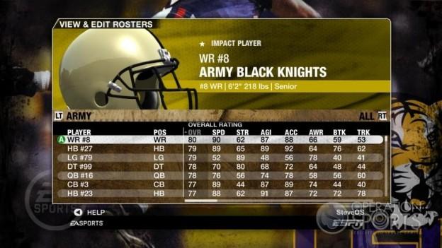 NCAA Football 09 Screenshot #96 for Xbox 360