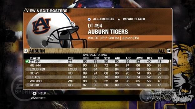 NCAA Football 09 Screenshot #97 for Xbox 360