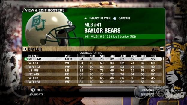 NCAA Football 09 Screenshot #99 for Xbox 360