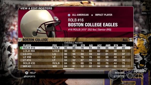 NCAA Football 09 Screenshot #101 for Xbox 360