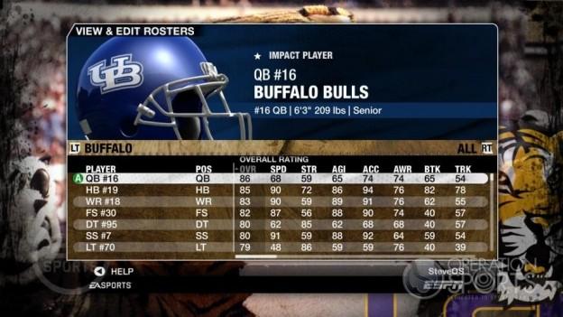 NCAA Football 09 Screenshot #103 for Xbox 360