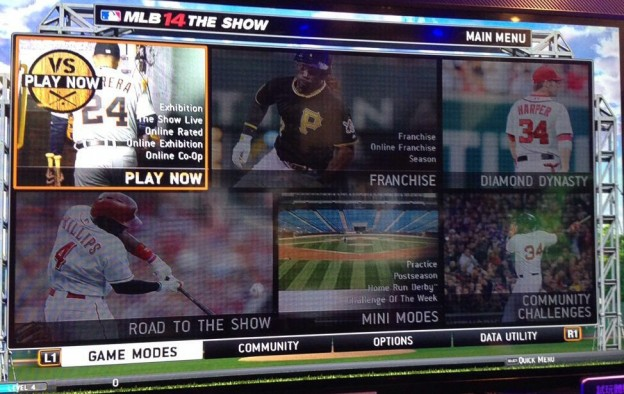 MLB 14 The Show Screenshot #1 for PS3