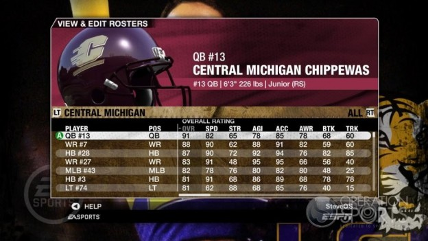 NCAA Football 09 Screenshot #106 for Xbox 360