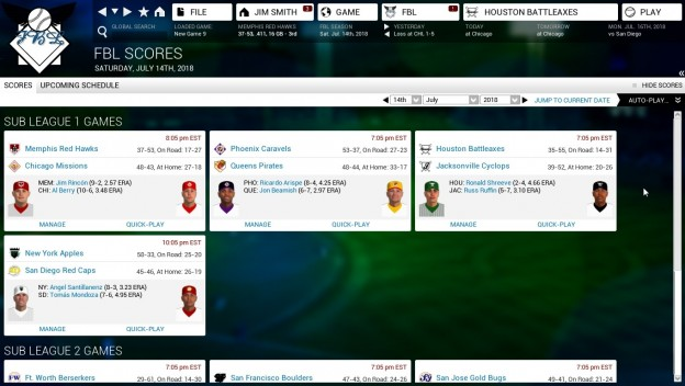 Out of the Park Baseball 15 Screenshot #4 for PC