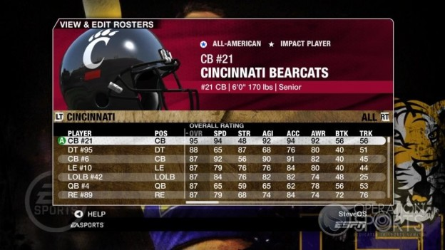 NCAA Football 09 Screenshot #107 for Xbox 360