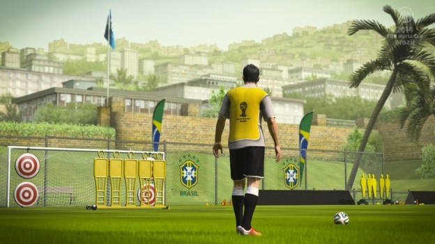 2014 FIFA World Cup Brazil Screenshot #1 for PS3