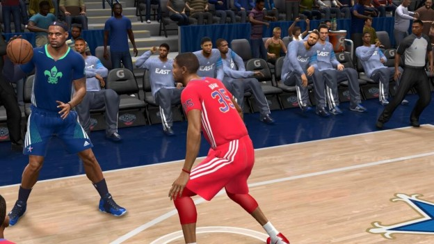 NBA Live 14 Screenshot #74 for PS4