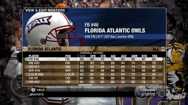 NCAA Football 09 Screenshot #116 for Xbox 360
