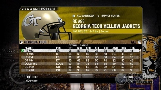 NCAA Football 09 Screenshot #121 for Xbox 360