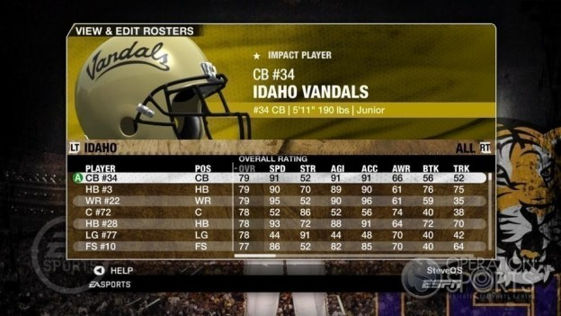 NCAA Football 09 Screenshot #124 for Xbox 360