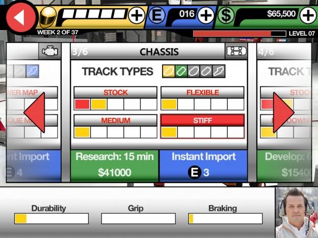 NASCAR Manager Screenshot #5 for iOS