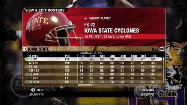 NCAA Football 09 Screenshot #128 for Xbox 360