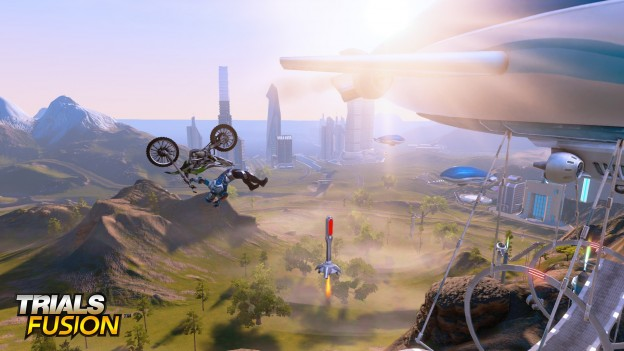 Trials Fusion Screenshot #1 for PS4