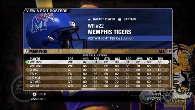 NCAA Football 09 Screenshot #138 for Xbox 360
