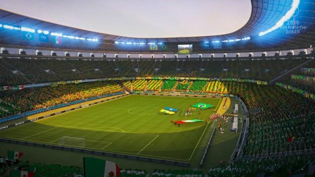 2014 FIFA World Cup Brazil Screenshot #11 for Xbox 360