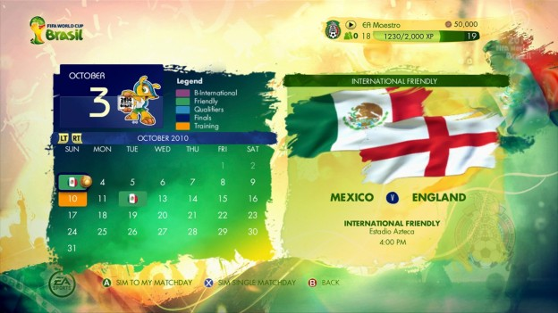 2014 FIFA World Cup Brazil Screenshot #15 for Xbox 360