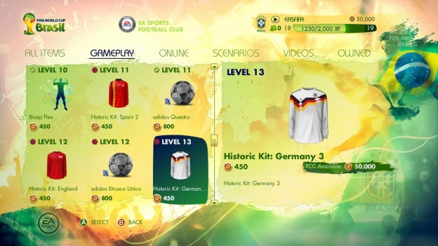 2014 FIFA World Cup Brazil Screenshot #18 for Xbox 360