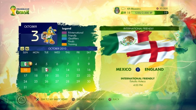 2014 FIFA World Cup Brazil Screenshot #21 for Xbox 360