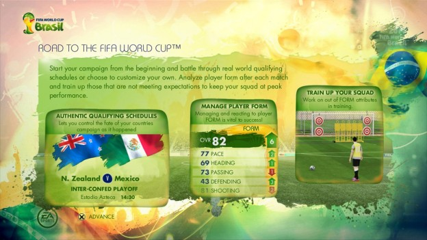 2014 FIFA World Cup Brazil Screenshot #22 for Xbox 360
