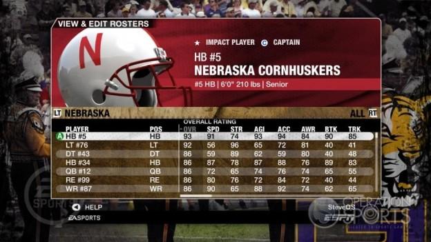 NCAA Football 09 Screenshot #149 for Xbox 360